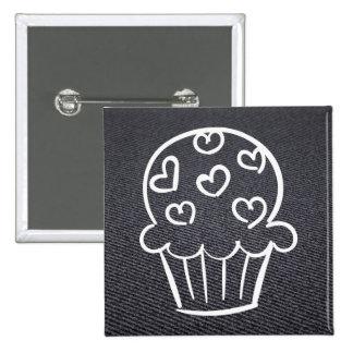 Delicous Cupcakes Sign 2 Inch Square Button