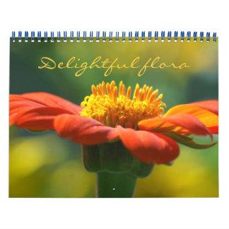 delighful flora calendar