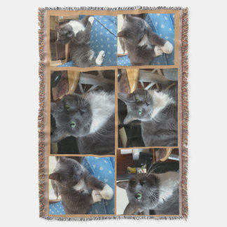 """Delighful """"photo throws"""" throw blanket"""