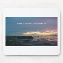 Delight Beauty Mouse Pad