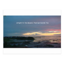 Delight Beauty Postcard