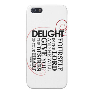 Delight in the Lord Cover For iPhone SE/5/5s