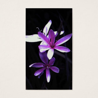 delight of purple business card