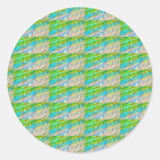 DELIGHT Sparkle Green Dream Ideal GIFTS FUN Classic Round Sticker