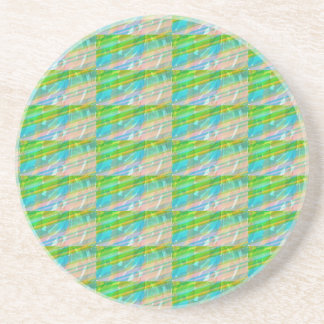 DELIGHT Sparkle Green Dream Ideal GIFTS FUN Drink Coaster
