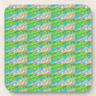 DELIGHT Sparkle Green Dream Ideal GIFTS FUN Beverage Coaster