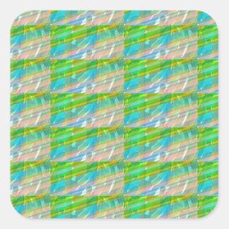 DELIGHT Sparkle Green Dream Ideal GIFTS FUN Square Sticker