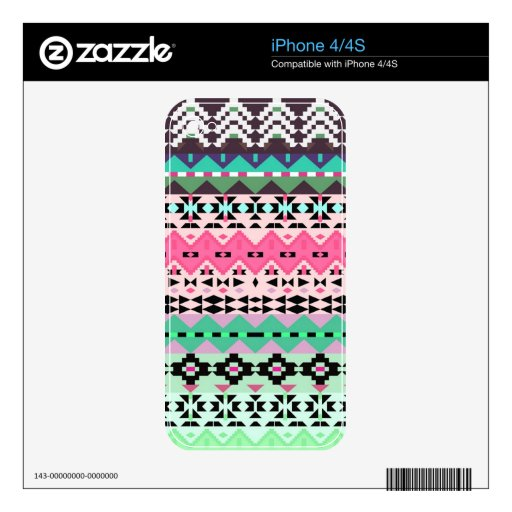 Delight - Tribal iPhone 4 Skin