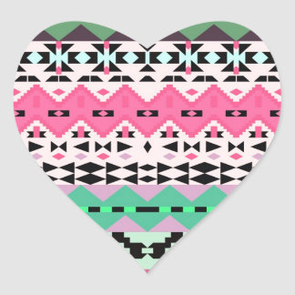 Delight - Tribal Heart Stickers