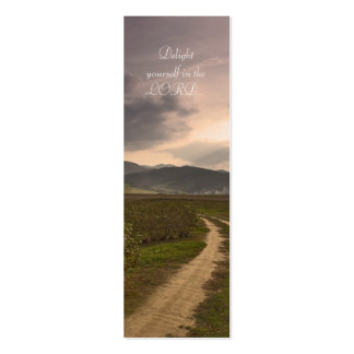Delight yourself in the LORD  - Bookmark Business Cards