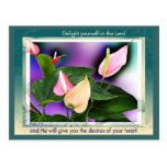 Delight Yourself Postcard