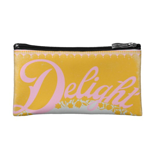 Delight Zig-Zagette Cosmetic Bag