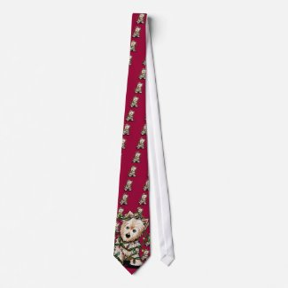DeLighted Christmas Terrier Ties