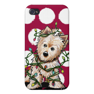 DeLighted Terrier Dog Cover For iPhone 4