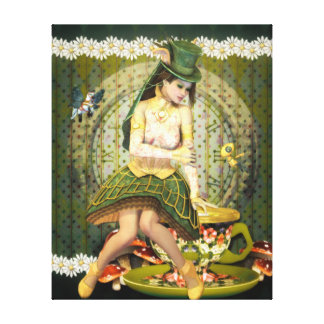 Delightful Curiosities Wrapped Canvas Print
