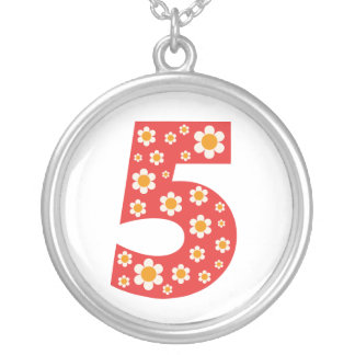 Delightful Daisies Number 5 Necklace