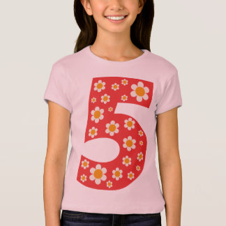 Delightful Daisies Number 5 T Shirt