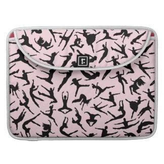 Delightful Dancers Pink MacBook Pro Sleeve