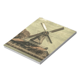 Delightful design of old antique windmill notepads