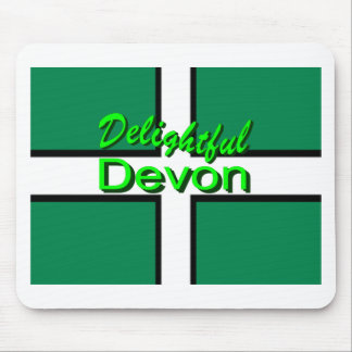 Delightful Devon Mouse Pad