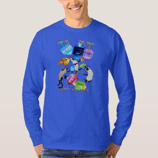 Delightful Dreidels-lettered Shirts