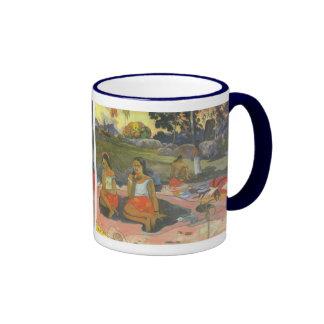 Delightful Drowsiness, Gauguin, Impressionism Art Coffee Mugs