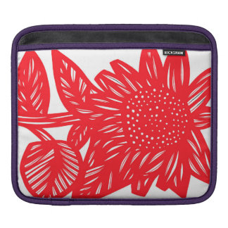 Delightful Floral Manly Beautiful iPad Sleeve
