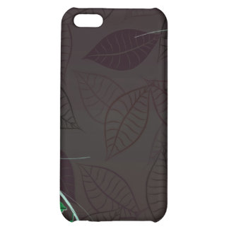 Delightful green blossom brownish leaves iPhone 5C cover