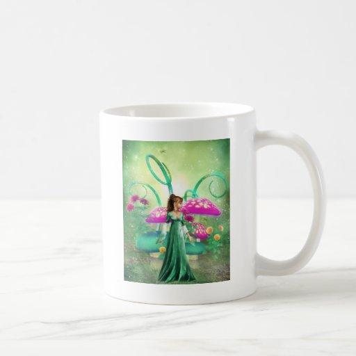 Delightful Green Classic White Coffee Mug