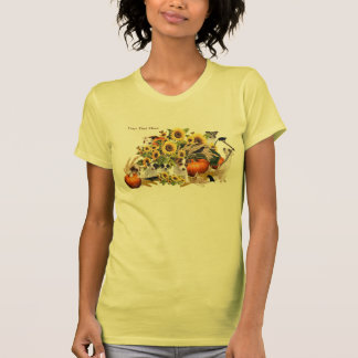 Delightful Jack Russell Fall Harvest Tank Top