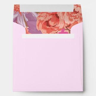 Delightful Packed Flowers Design Envelope