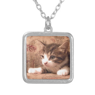 Delightful Pussycat Personalized Necklace