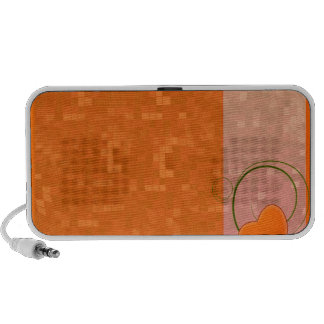Delightful reddish texture special gift PC speakers
