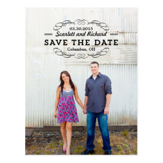 Delightful Seal Save The Date Postcard