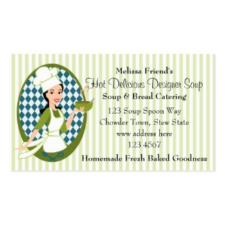 Delightful Soup Business Card Template