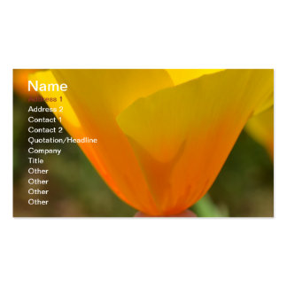Delightful Spring Business Card Template