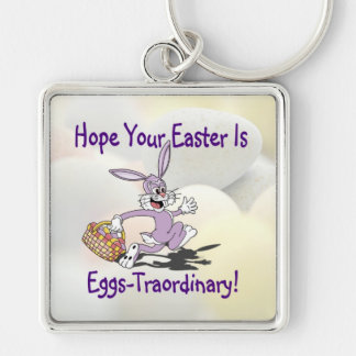 Delightful - Yippy! It's Easter Egg Hunting Season Keychain