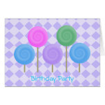 Delightfully Sweet Collection - Customized Greeting Card