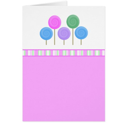 Delightfully Sweet Collection Greeting Card
