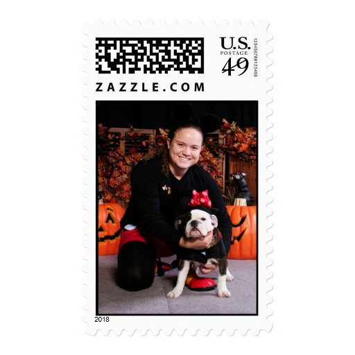 Delilah - English Bulldog - Pohl Stamp