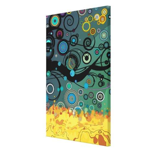 Delirio - arte abstracto impresiones en lona