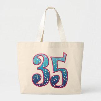 Delirio de 35 edades bolsa tela grande