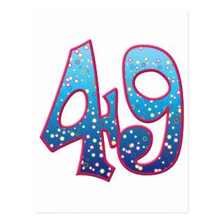 Delirio de 49 edades postal
