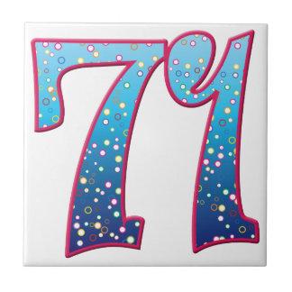 Delirio de 71 edades azulejo