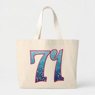 Delirio de 71 edades bolsa tela grande