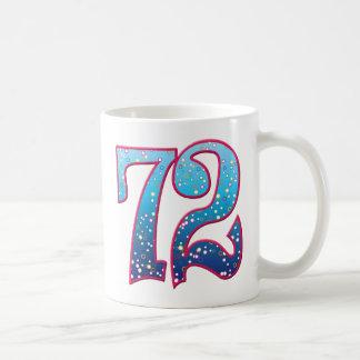 Delirio de 72 edades taza de café