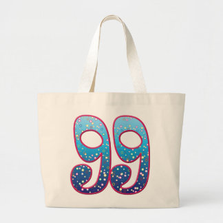 Delirio de 99 edades bolsa tela grande