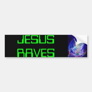 delirio de Jesús, DELIRIOS de JESÚS Pegatina Para Auto