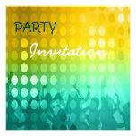 Delirio del fiesta de la invitación