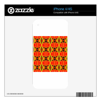 Delirio rojo skins para iPhone 4S